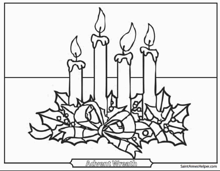 Advent Wreath Coloring Page Catholic Luxury Advent Wreath Coloring Page Free Christmas Recipes Sketch Advent Wreath Rudolph Coloring Pages Advent Candle Colors