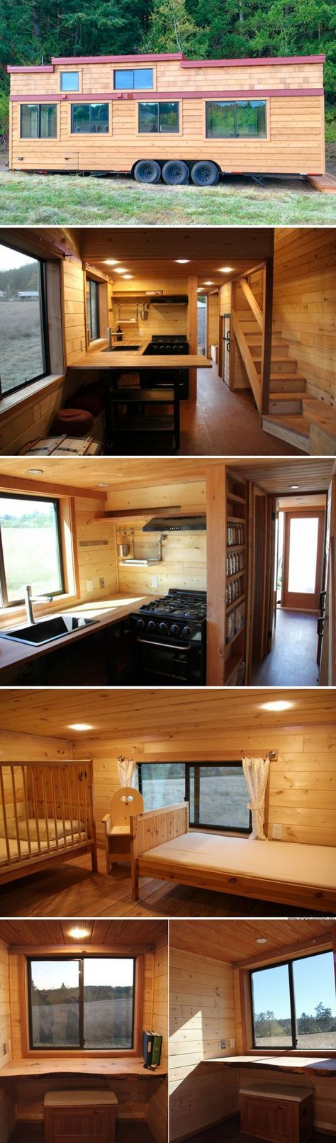 The Chinook 30 tiny house from Westcoast Outbuildings