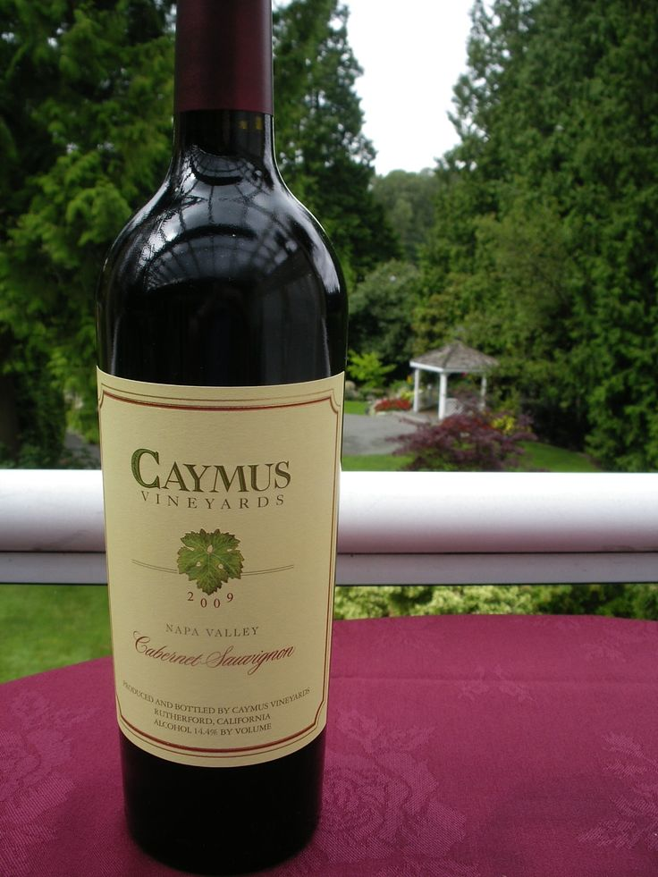 Caymus Vineyards Cabernet Sauvignon has a supple and creamy-textured, with mocha, ripe plum and cherry flavors that show touches of tobacco, espresso and underbrush. Full-bodied, gaining tannic traction on the finish, elegant and readily approachable.  Now on offer for Weddings and Banquets by the bottle.