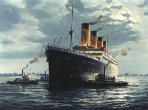 Las pinturas de Ken Marshall han inspirado casi todas las representaciones del Titanic, includa la película de James Cameron. Este artículo profundiza dicha comparación, y este libro incluye la colección completa de Marshall y el Titanic.