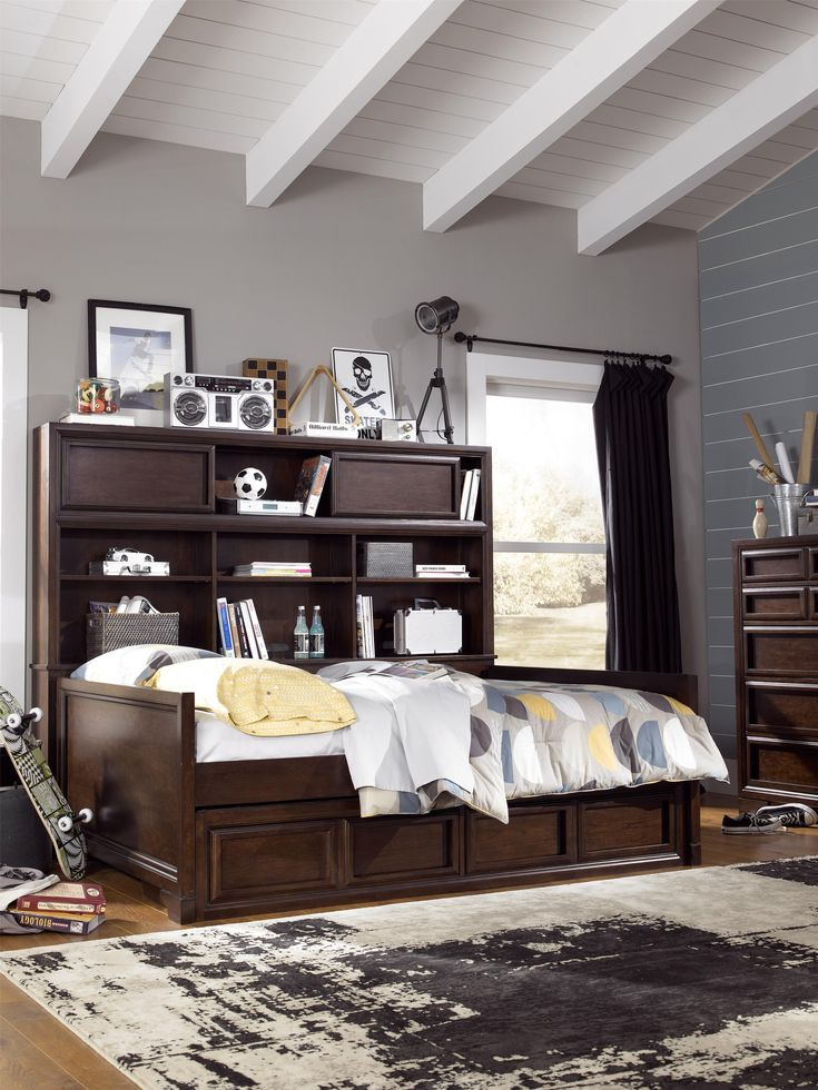 Complete Full Bookcase Daybed With Storage. Benchmark Full