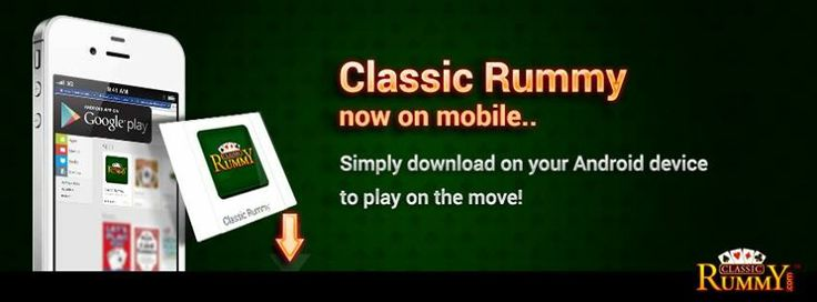 Good News!  Classic Rummy now on mobile.. Simply download on your Android device to play on the move!  https://play.google.com/store/apps/details?id=air.com.innopark.classicrummy
