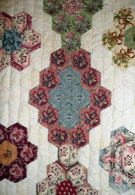 1041 Best Quilts Hexies Diamonds And Epp Images On