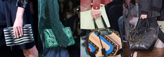 Fashion Handbags Fall-Winter 2014-2015: Patterns & Print