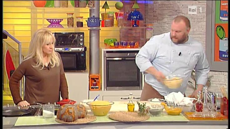 La prova del cuoco - Gabriele Bonci: pane alla zucca