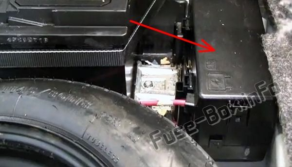 2010 Chrysler 300 Fuse Box Location