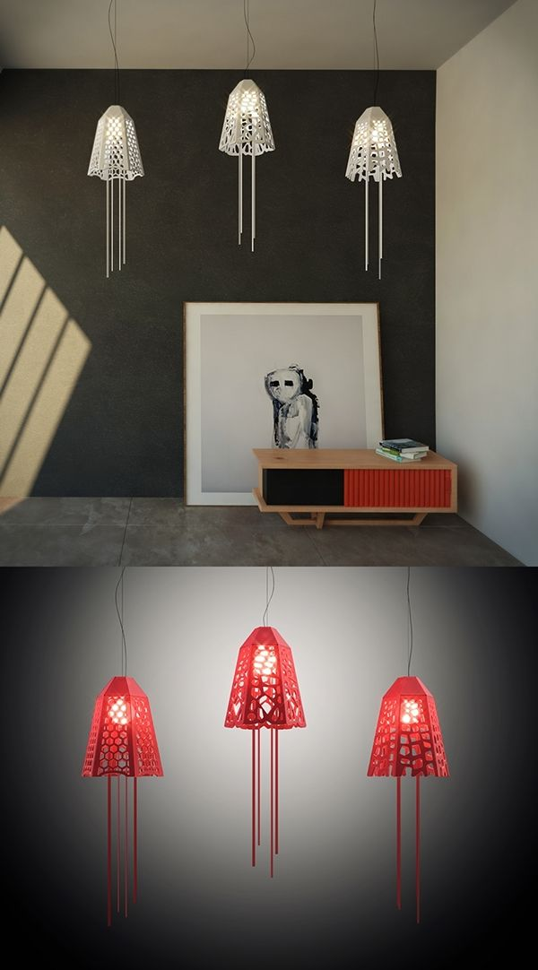 Medusa / Radiolaria - Lighting Design Project on Behance