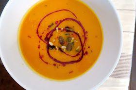 at ease: Pumpkin & Sweet Potato Soup