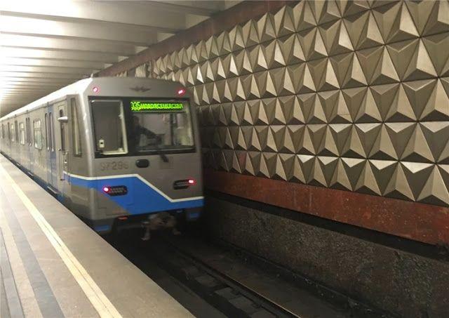 Транспортный блог Saroavto: Москва: Началось обновление поездов на Калужско-Ри...