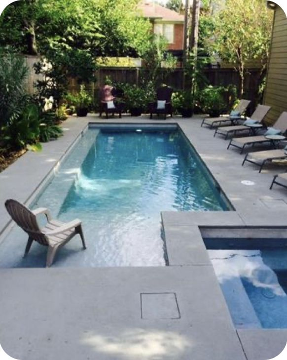 Pin By Lisa Carole On Swimming Pools Small Pool Design Small Inground Pool Inground Pool Designs
