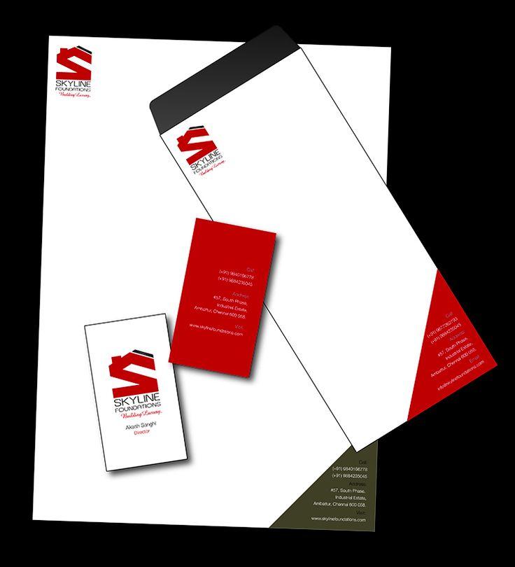 Corporate Identity-Skyline Foundation #corporateidentity #design #realestate