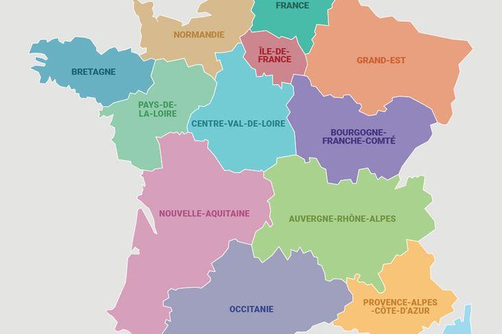 Tous les logos des nouvelles régions françaises