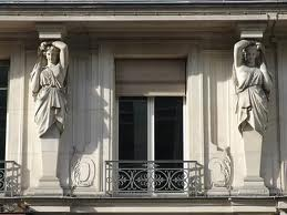 Caryatids in Paris
