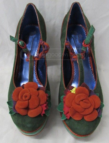 Poetic Licence Behave Yourself Tropical Floral 1950s Retro Vintage Summer Shoes Excellent Quality  4EUPEQVUO