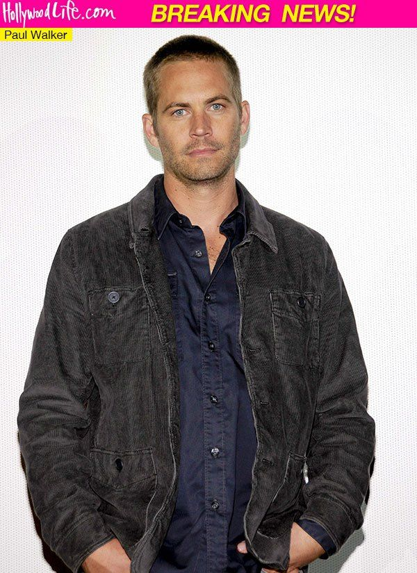 walker killed in car accident | Paul Walker Dead — Actor Dies At 40 In Car Accident & Explosion ...