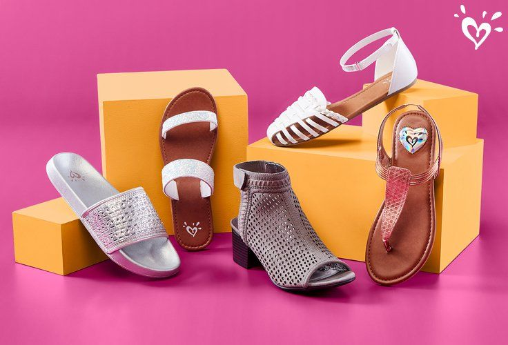 Fun Fashion That S Always A Step Ahead Girls Shoes Tween Justice Shoes Girls Shoes