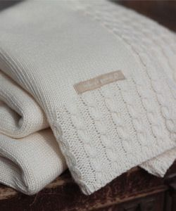 Knitted Baby Blankets | Organic Baby Blankets