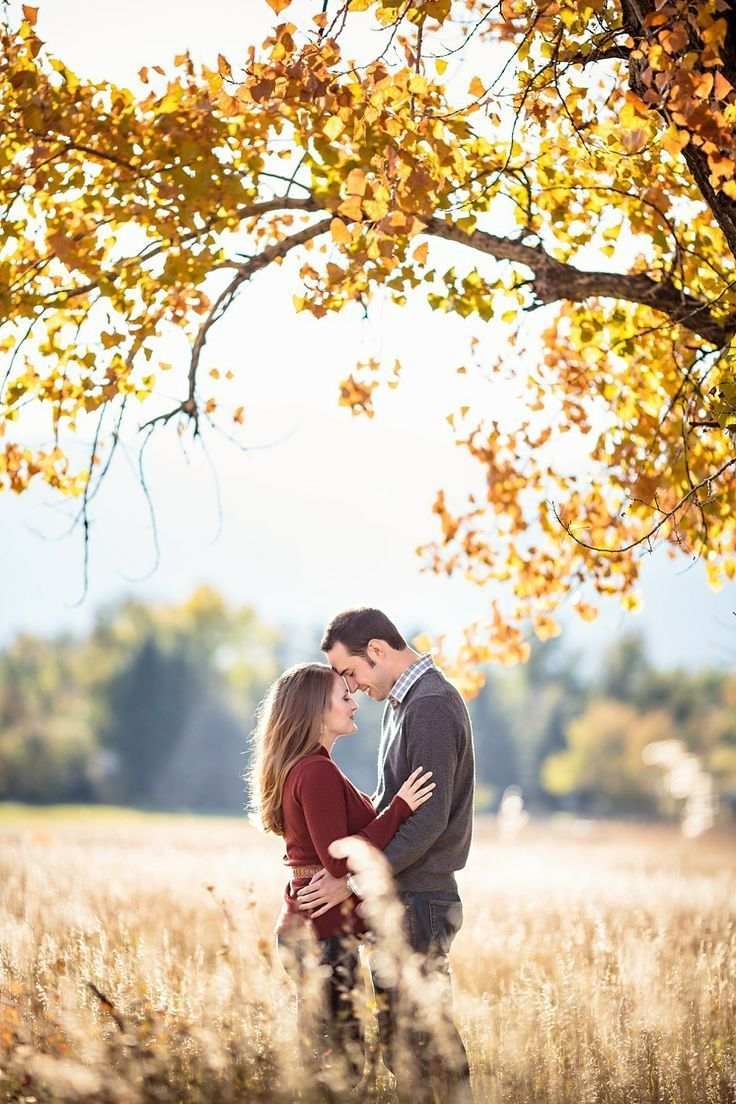 Autumn Engagement Photos near Boulder, Colorado Jason+Gina Wedding Photographers http://www.jason-gina.com