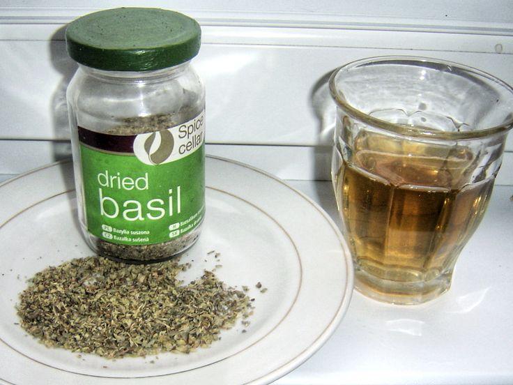 Čaj z bazalky