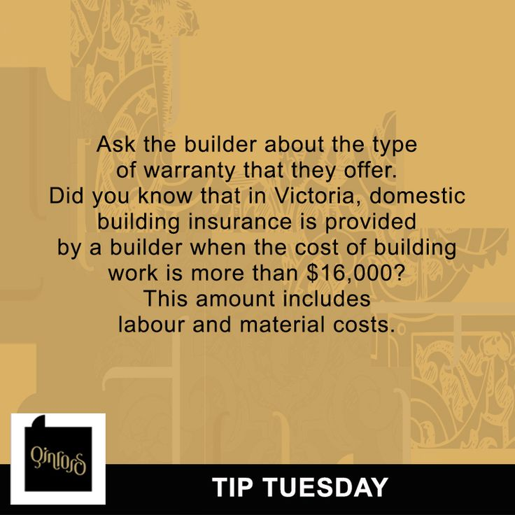 Are you looking for a home builder? Here's a quick tip to help you make the right choice. Remember that the insurance policy is for the benefit of the owner. With this being said, a reliable and trustworthy registered builder will ensure that the building work complies with the relevant legislation at the time of construction.