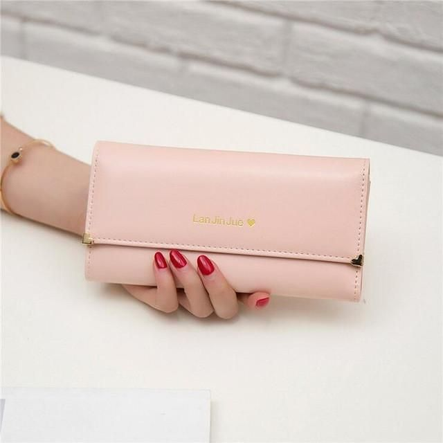 2017 Fashion Wallets Bag Popular Purse Long PU Handbags Card Holder