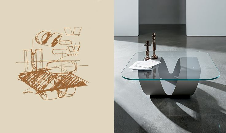 How an idea takes form? Discover the design process behind the Ring coffee table #idea #sketch #inspiration #home #living #decor #furniture #designlover #design #architecture #archilovers
