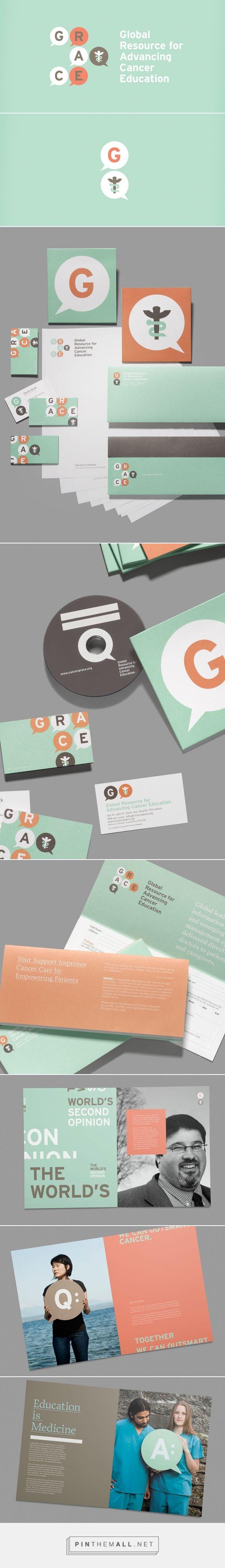 Global Resource for Advancing Cancer Education Branding on Behance | Fivestar Branding – Design and Branding Agency & Inspiration Gallery | Professional Logo and Website Design