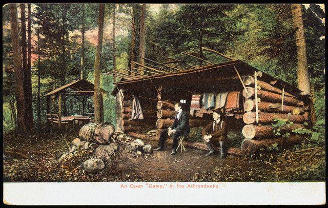 Adirondack Camping Shelte   Huts & Shelters   Adirondack ...