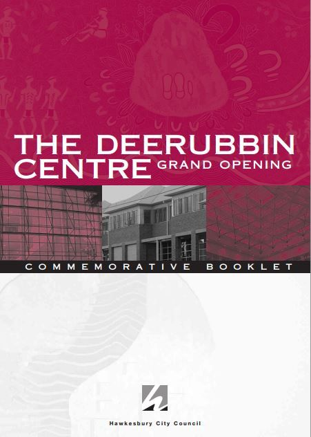 The commemorative brochure for the opening of the new Library building in Windsor in 2005. The booklet includes some history of the Library Service http://www.hawkesbury.nsw.gov.au/__data/assets/pdf_file/0010/4222/CommemorativeBooklet.pdf