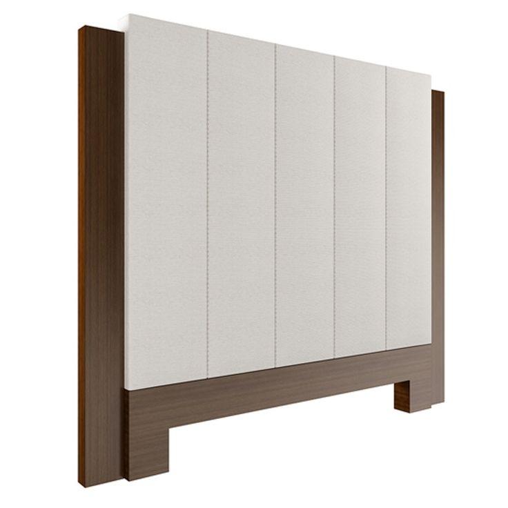Empire Headboard Queen  Contemporary, Upholstery  Fabric, Wood, Headboard by Edward Ferrell  Lewis Mittman