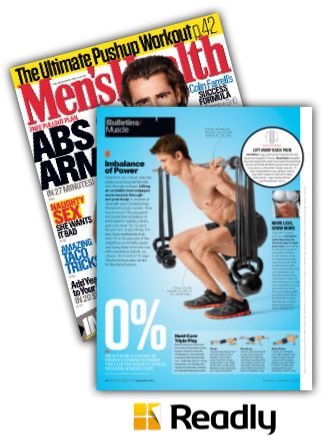 Suggestion about Men's Health September 2015 page 26