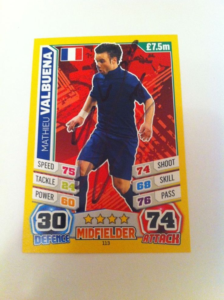 mathieu valbuena dynamo moscow france footballer signed trading card autograph i love shopping. Black Bedroom Furniture Sets. Home Design Ideas