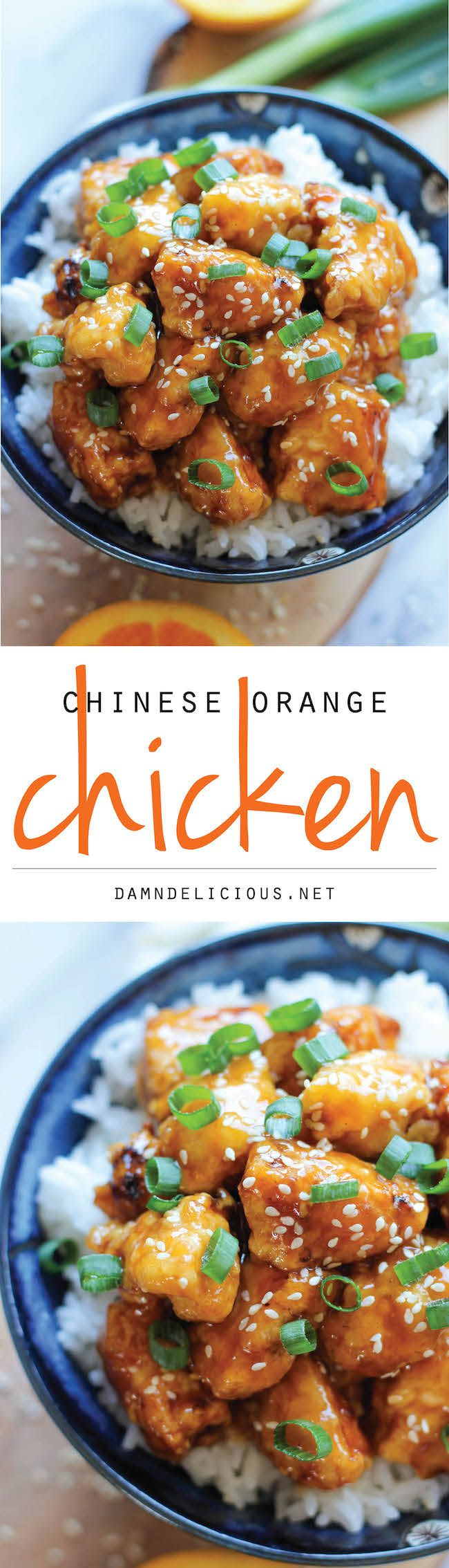 Chinese Orange Chicken   Needs some tweeking for gluten/grain free. Replace soy sauce with tamari or cocunut  aminos. Also replace cornstarch with arrowroot.