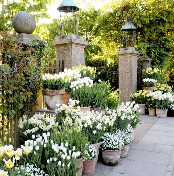 Floristengeschaftstechnik In Ihrem Garten Garten Dekorationen Garten Garten Ideen Garten Deko