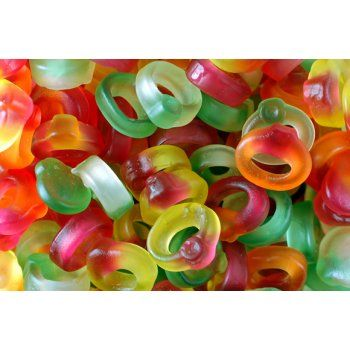 HARIBO - FRIENDSHIP RINGS (for sweetie candy bar)