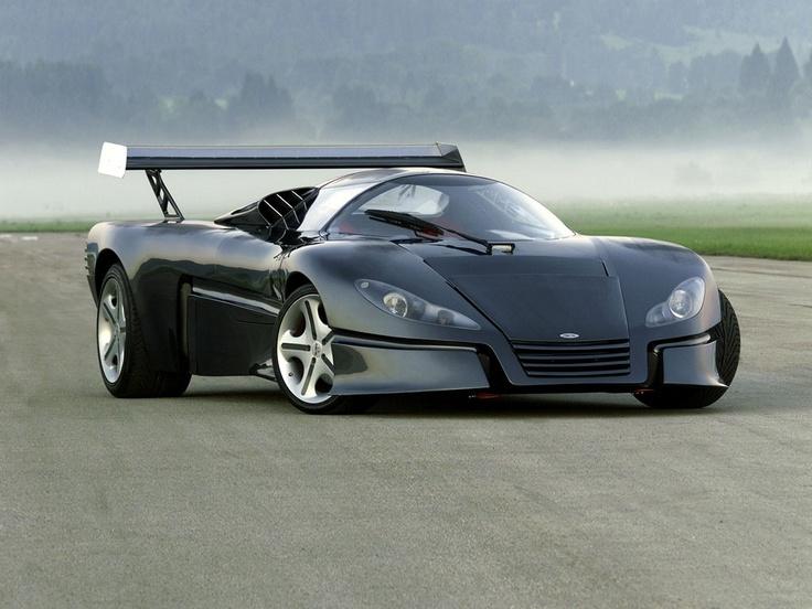 Sbarro GT1 concept - small Swiss car company.