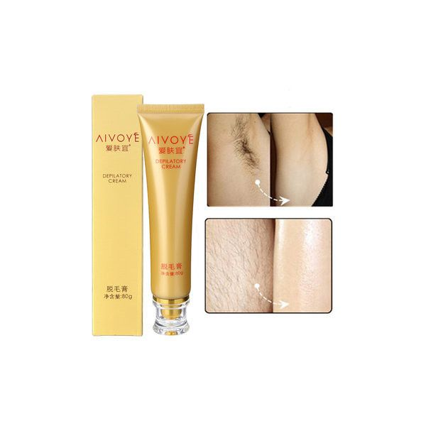 AIVOYE Depilatory Cream Powerful Permanent Body Hair Removal Hair... ($10) ❤ liked on Polyvore featuring beauty products, bath & body products, hair removal and white