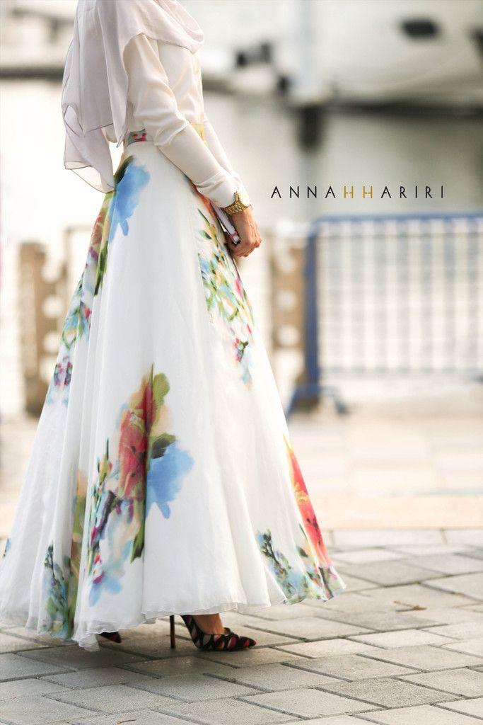 SILK FLOWER Skirt
