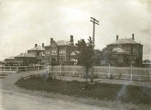 Goulburn Base Hospital, Goldsmith Street, Goulburn, date unknown.