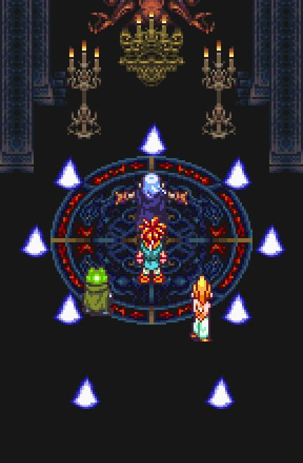 Confronting Magus - Chrono Trigger