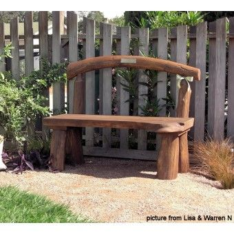 Petosky Log Outdoor Bench | Outdoor U0026 Patio Log Furniture #logfurnitureplace