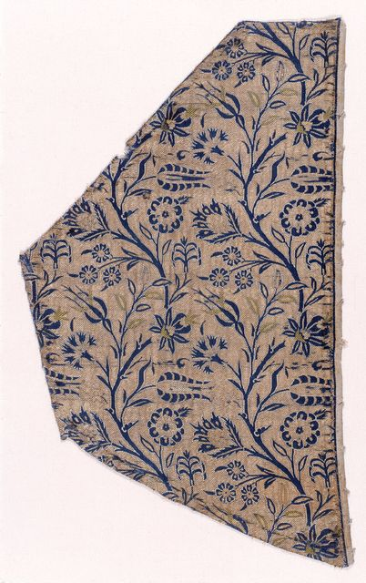 Textile Fragment  1600s