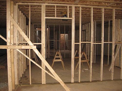Framing A Basement Wall frame basement walls