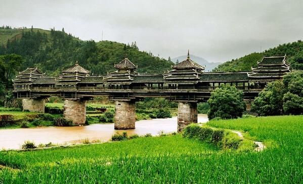 Baños Romanos Bath Inglaterra:Chengyang Bridge China
