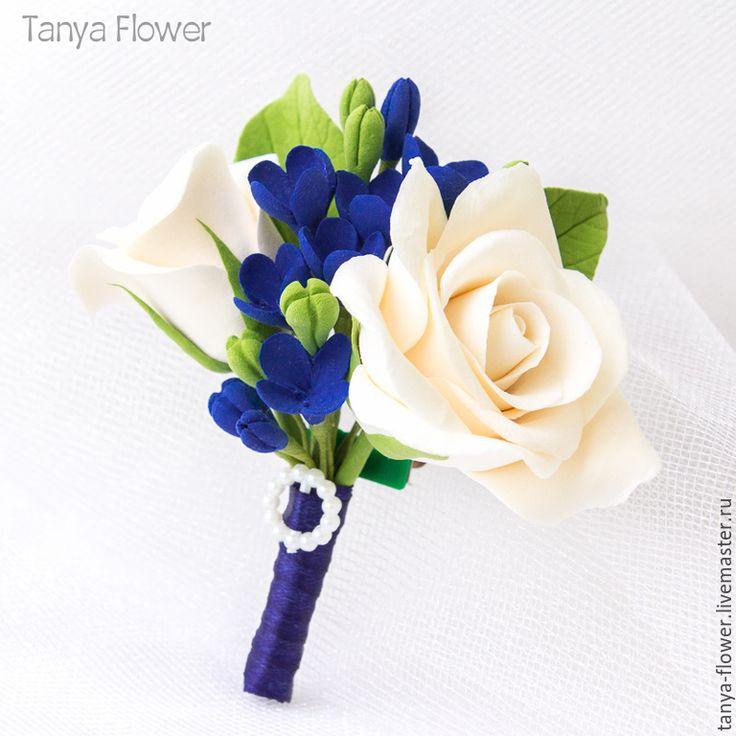 Купить Свадебная бутоньерка жениха - бутоньерка, бутоньерка для жениха, свадебная бутоньерка, цветы