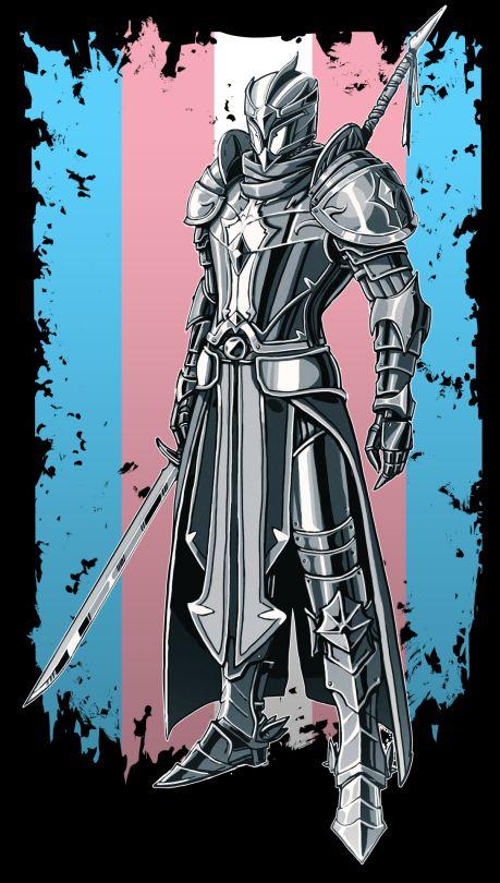 Trans Knight--> Not mine Transgender Ftm, Trans Boys, Trans Art, Sea Wallpaper, Lgbt Love, Genderqueer, Lgbt Community, Poses, All Pride Flags