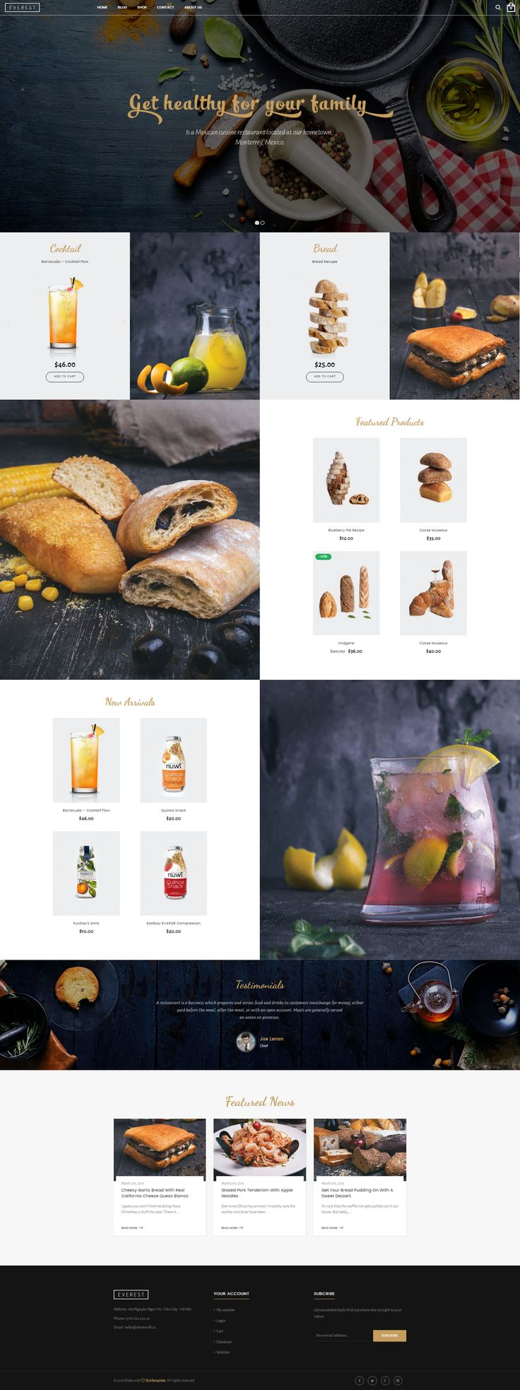 Ri Everest is a fully Responsive Wordpress Woocommerce Theme that is extremely…