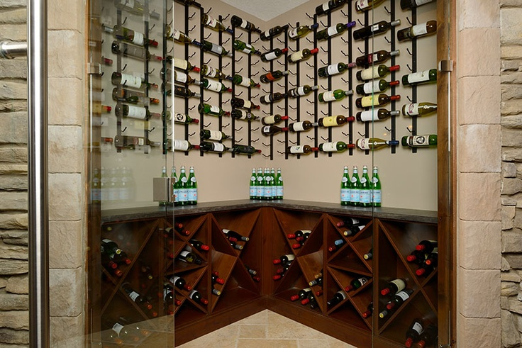 A Great Example Of A Walk In Wine Cellar Top Shelf