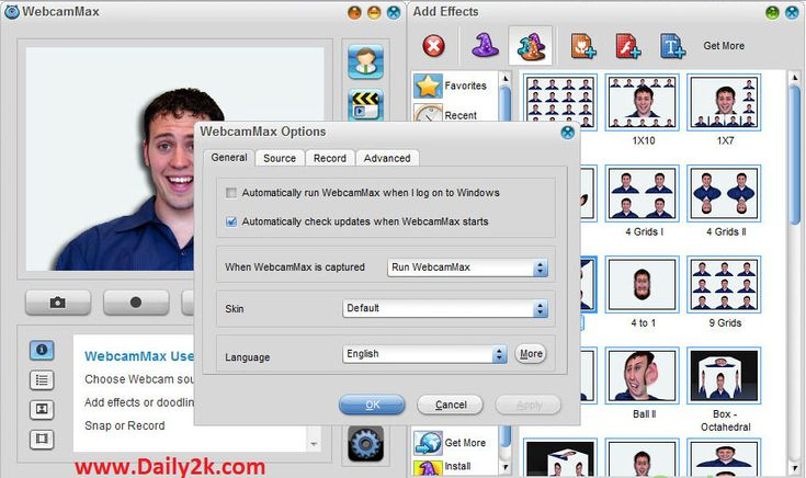 WebcamMax is one of the amazing software which allows you add thousands of cool effects to your webcam video.It is very easy to use.You can easily Download