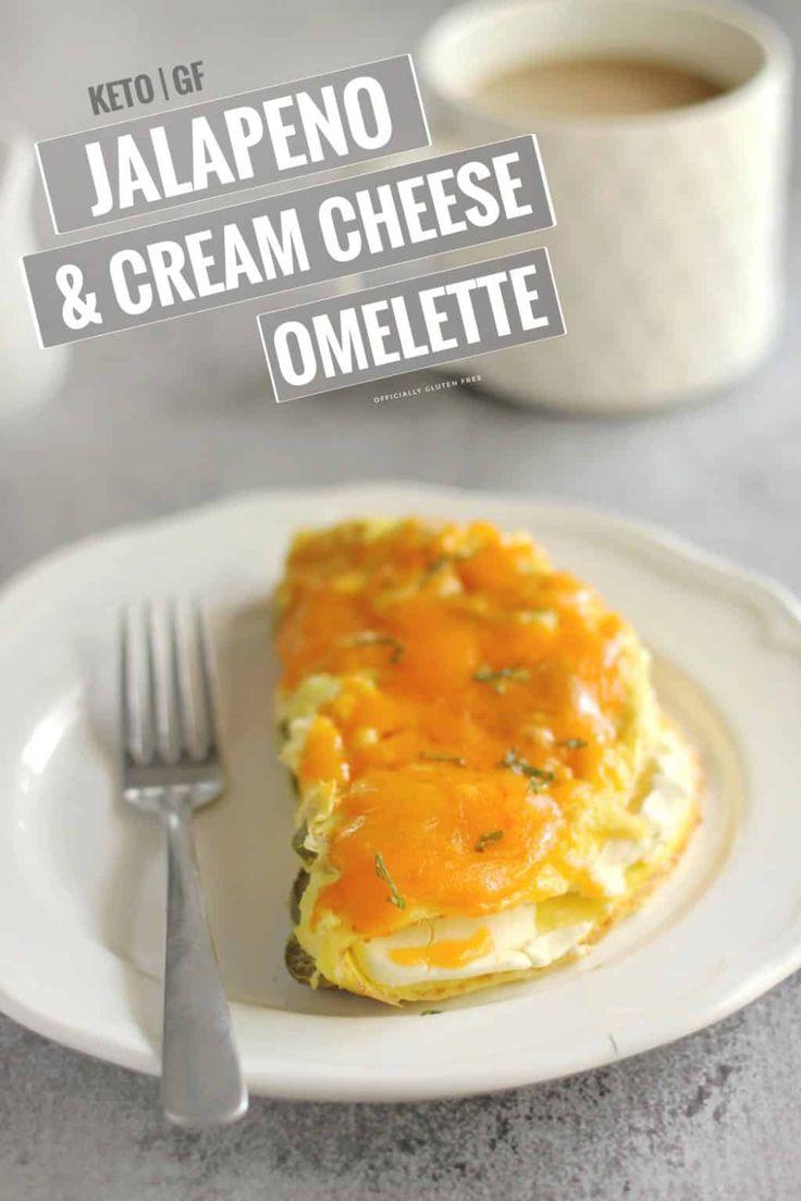 Jalapeno Cream Cheese Omelette Recipe Cheese Omelette Cream
